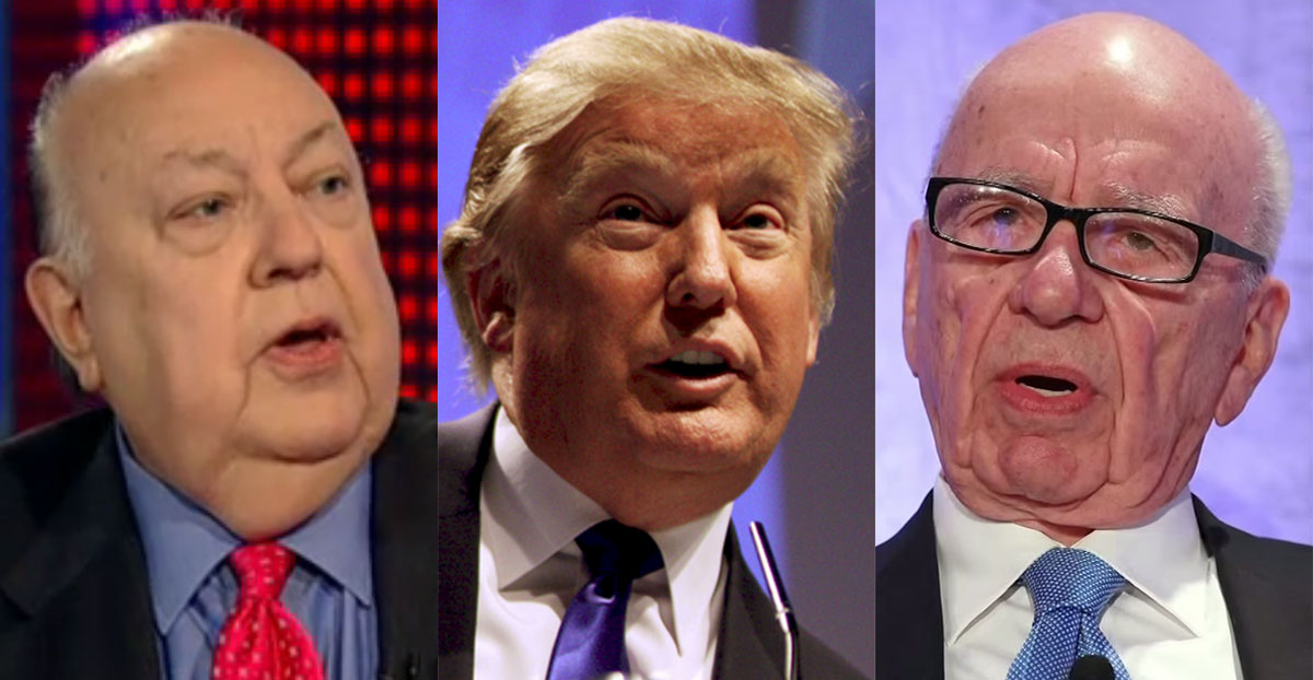 Ailes, Trump, Murdoch