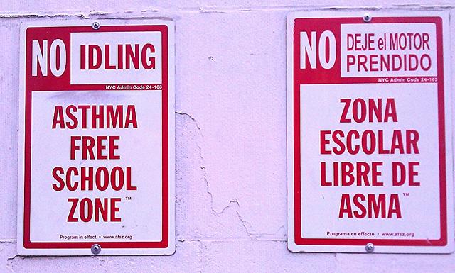 Asthma-Free School Zone