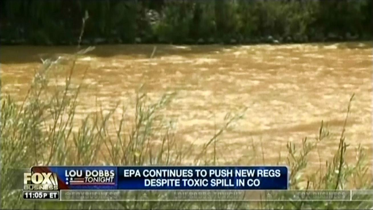 Dobbs Chyron EPA Spill