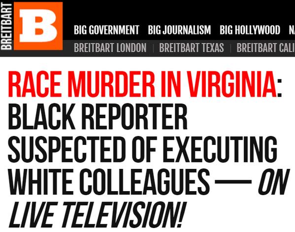 Breitbart News Slammed For Race-Baiting Article On Shooting