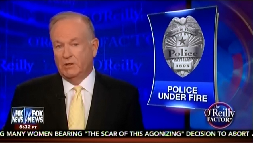 Bill O'Reilly frustrated by guests who won't assign #BlackLivesMatter blame for police murders