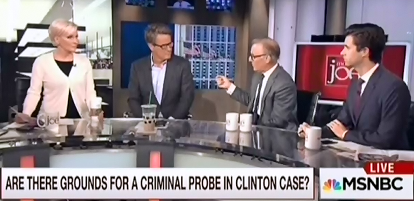 Morning Joe Is Desperate For A Clinton Scandal