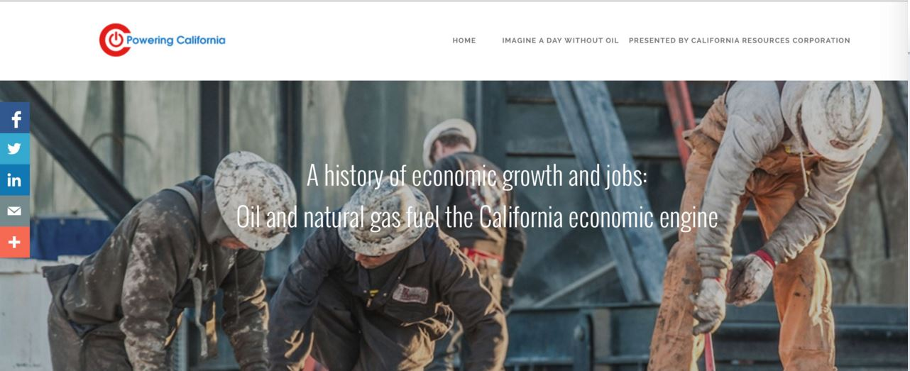 Powering California Website
