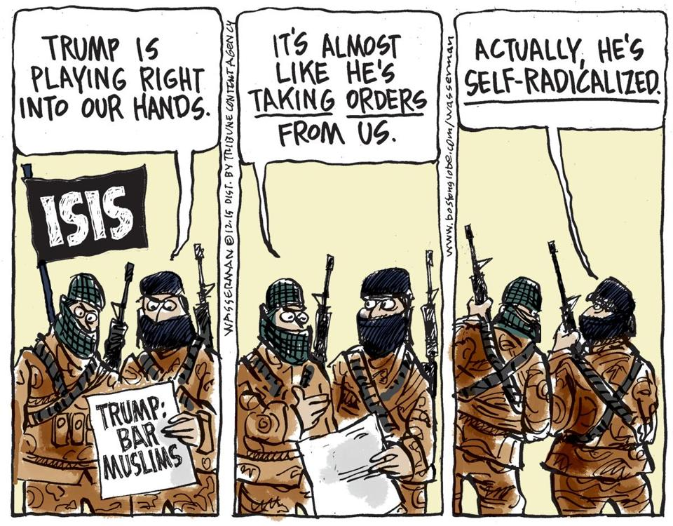 Helping Hands Of America >> Media Call Out Donald Trump's Plan To Ban Muslims From The US For Playing Into The Hands Of ISIS