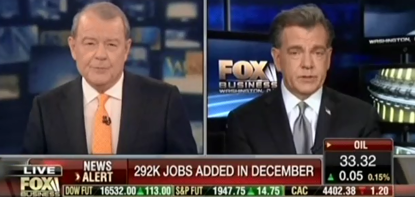 Varney Continues Lying About Job Market Strength