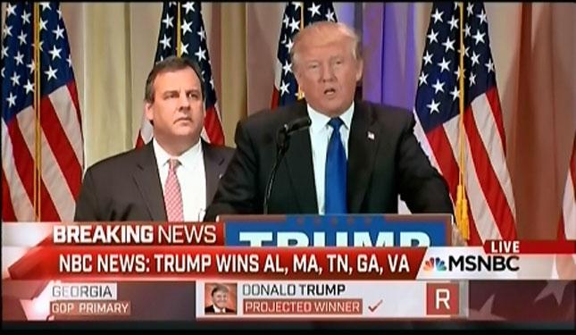 Trump, Christie