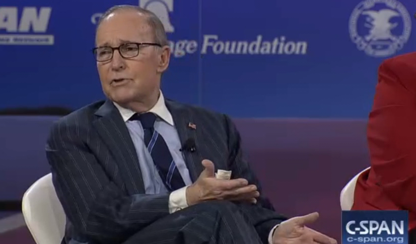 Is larry kudlow gay