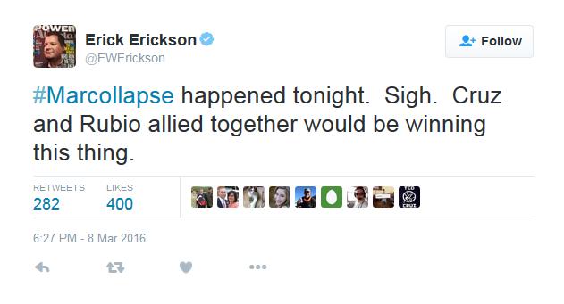 Erickson #Marcollapse