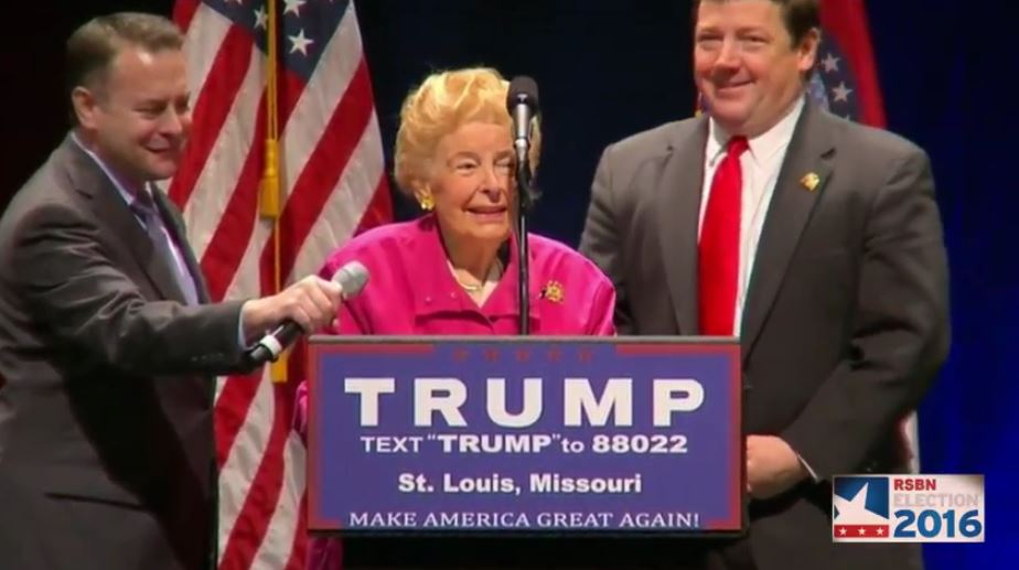 Trump Rallies With  Great Lady  Who Doesn t Believe Wives Can Be Raped By Husbands