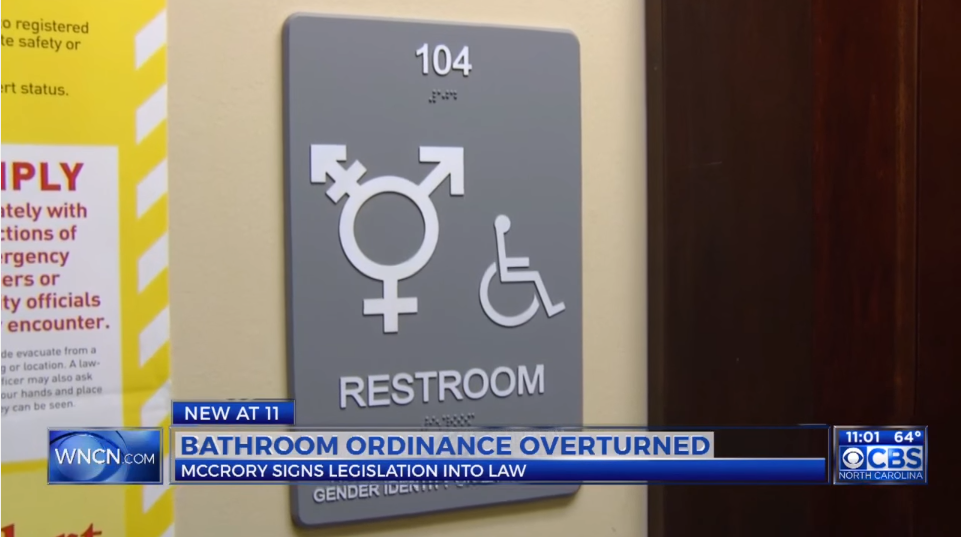 Bathroom Sign Location the question every reporter should be asking about transgender