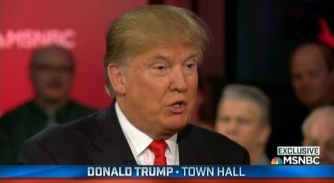Trump MSNBC Town Hall