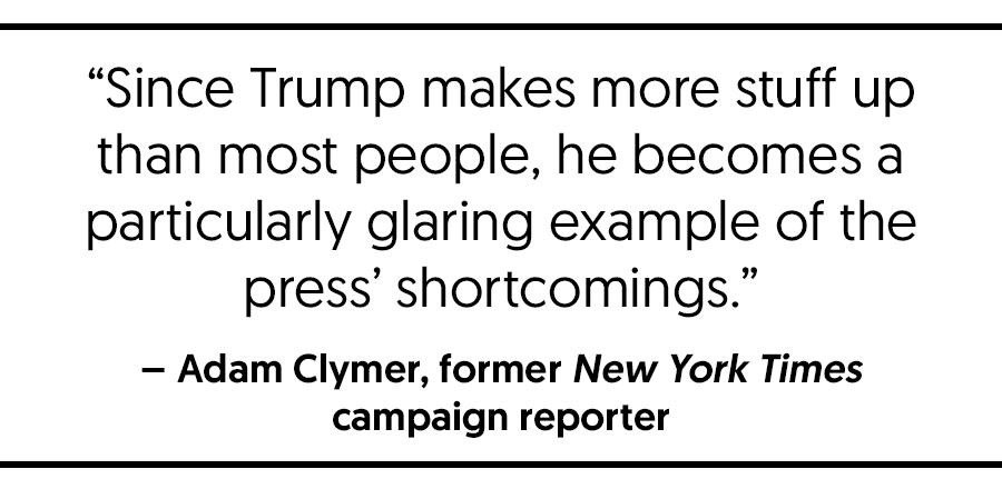 "Veteran Campaign Reporters: ""The Stakes Are Too High"" To Let Trump"