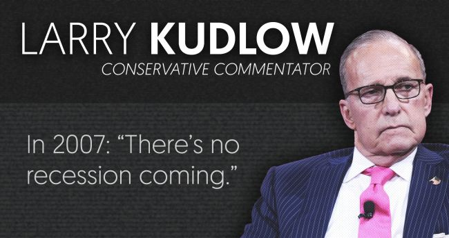 Larry Kudlow | Media Matters for America