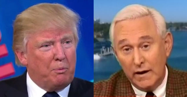How The Trump Campaign Is Embracing Dirty Trickster Roger Stone's Playbook