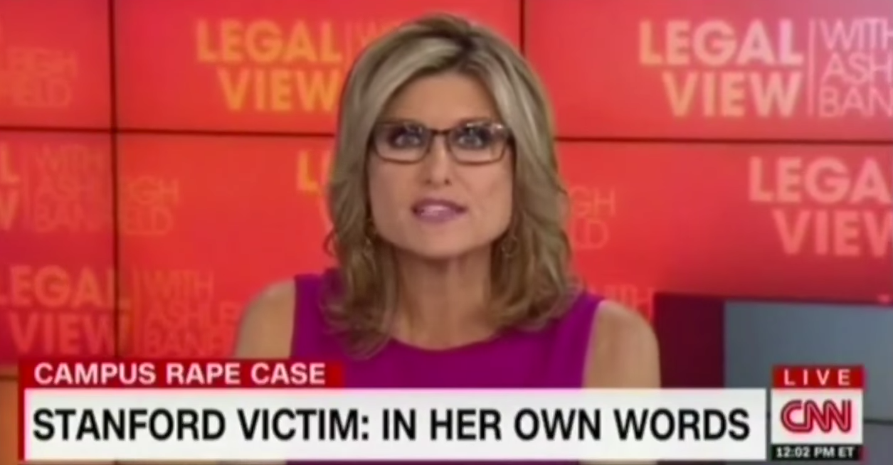 With Her Stanford Rape Case Reporting, CNN's Ashleigh ...