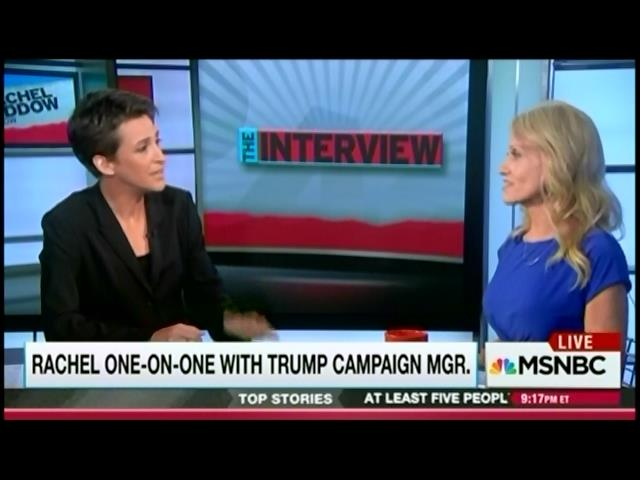 watch rachel maddow school trump s campaign manager on the