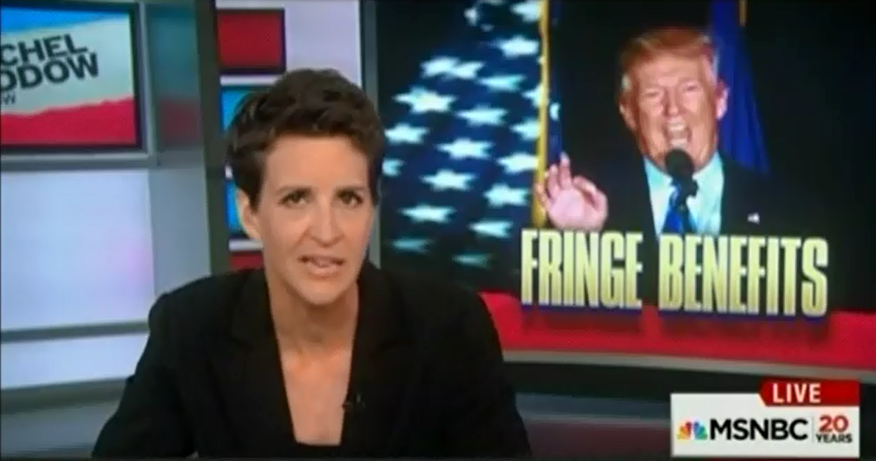 """Rachel Maddow Rips Trump After """"Stunning"""" And """"Profound Rejection"""" From Reputable Economists"""