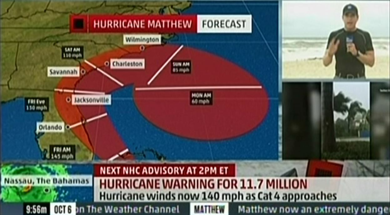 Matt Drudge Suggests Government May Be Lying About Hurricane Matthew