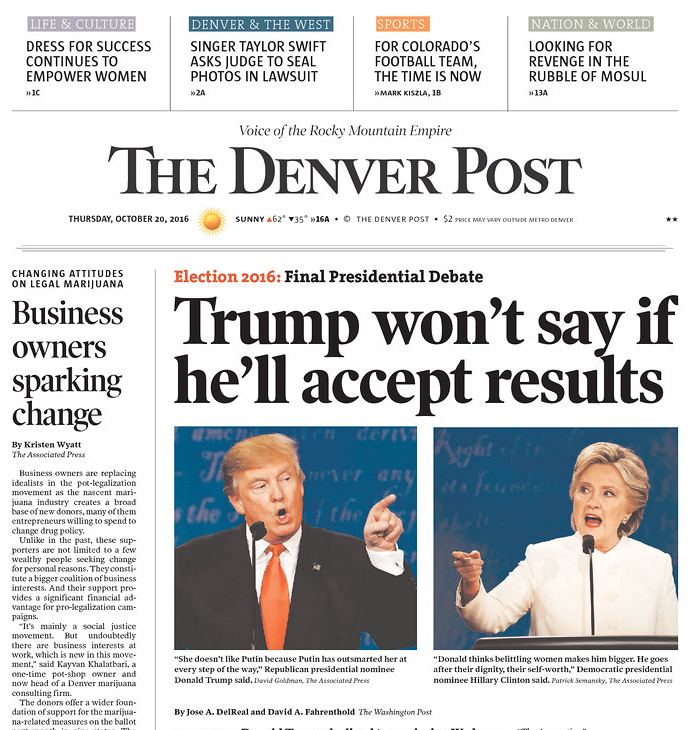 Newspapers Highlight Trump's Stunning Failure To Confirm