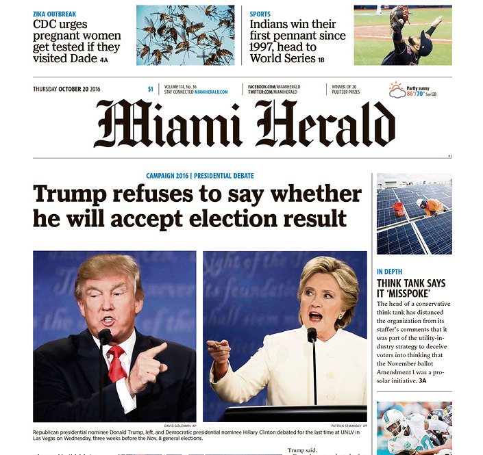 Newspapers Highlight Trump's Stunning Failure To Confirm He