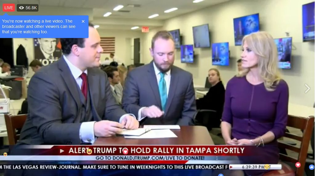 Trump Just Launched a Nightly Facebook Live News Show