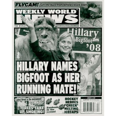 weekly world news media matters for america