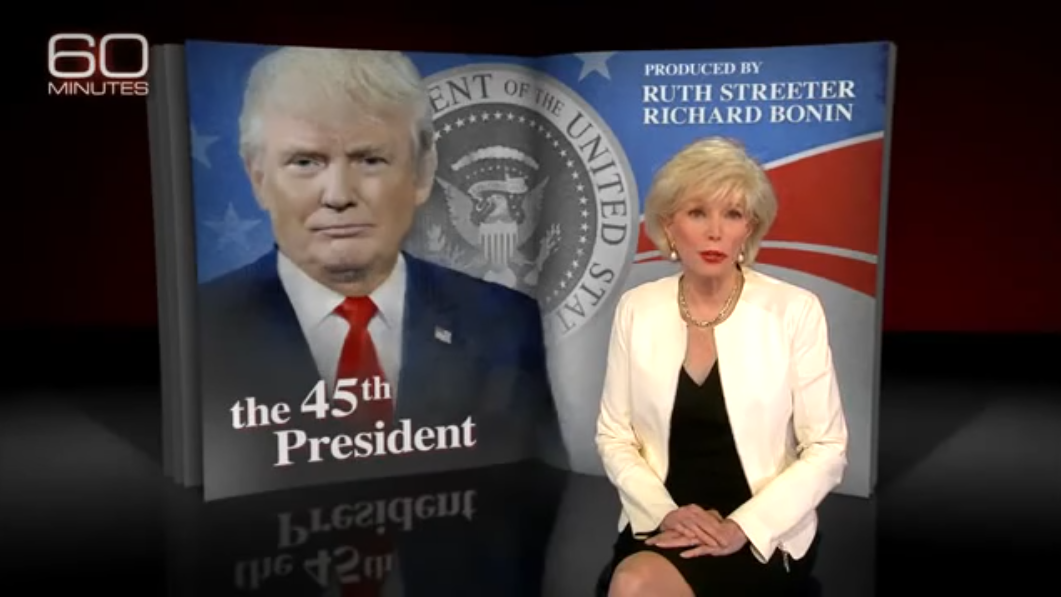 60 Minutes Gave A Master Class In Normalizing Dangerous Demagogue Inviting President Elect Donald Trump To Reintroduce Himself As Reasonable
