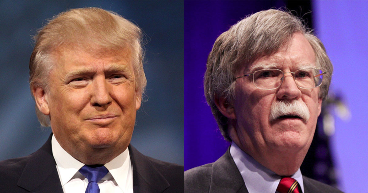 Image result for trump bolton