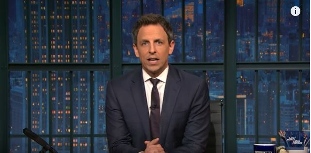 Seth Meyers Calls On Media Stop