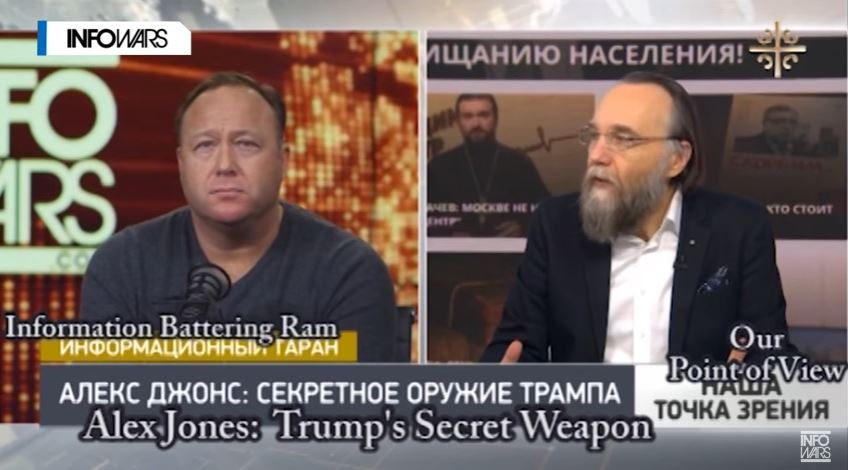 "Alex Jones Brags About Praise From ""Top Putin Advisers"" On Russian TV For His Pro-Trump Coverage"