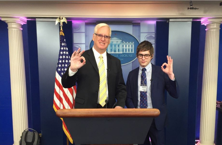 Lucian Wintrich Twitter >> A Dangerous Troll Is Now Reporting From The White House