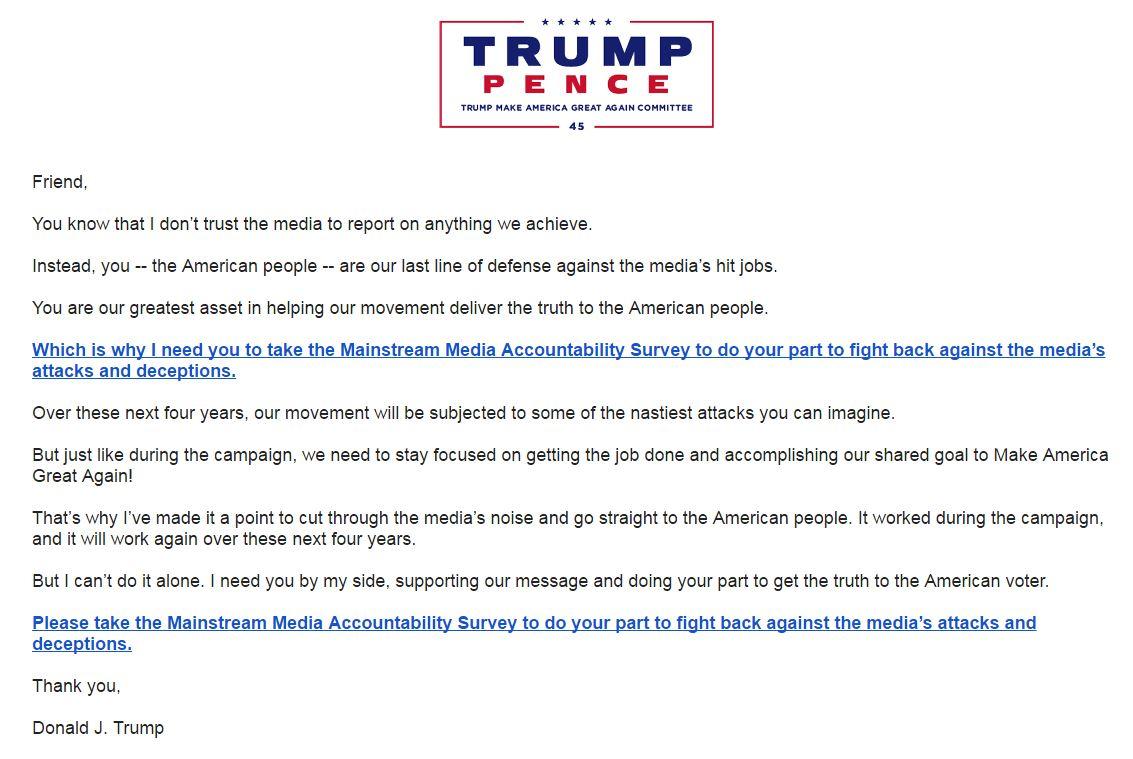 "Trump Supporters Receive ""Mainstream Media Accountability"