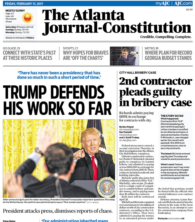 trickerbd.ml is a premium website for subscribers of The Atlanta Journal-Constitution. Organized like today's paper. For web, tablet, phones.