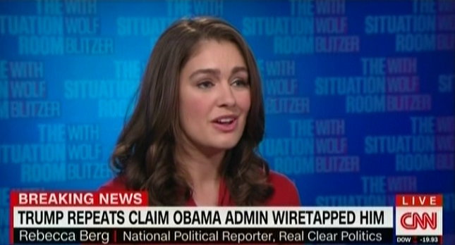 photo image Rebecca Berg On CNN: Trump