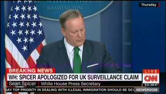 photo image Spicer Shuts Down Press Briefing Following Questions About His International Incident