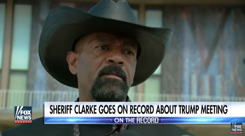 """Milwaukee Journalists: Sheriff David Clarke Is """"Missing In Action"""""""