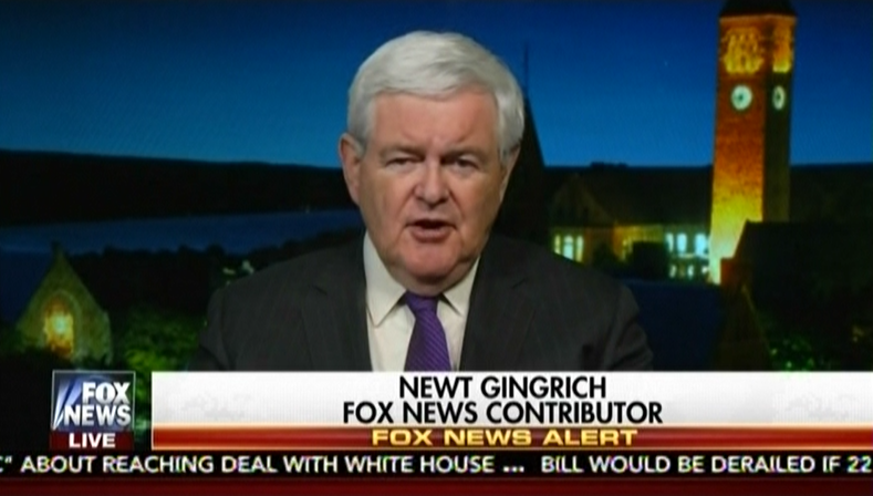 "Newt Gingrich: We Must Defeat ""Left-Wing Mythology That You Can Be Multicultural And Still Be A Single Country"""