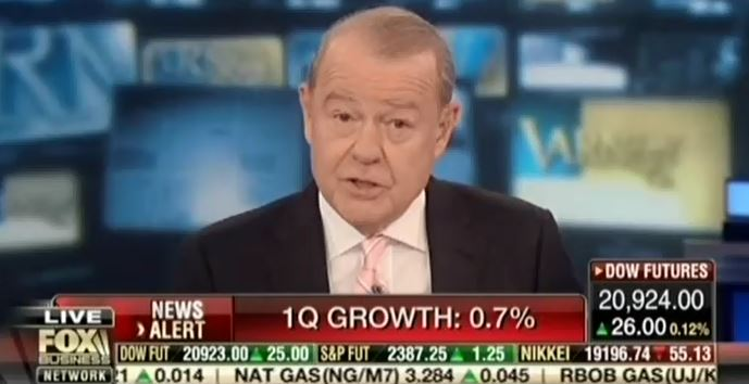 Fox's Legendary Hypocrisy Is On Full Display With Today's Underwhelming GDP Report