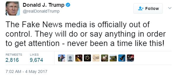 Image result for images of trump putting down press