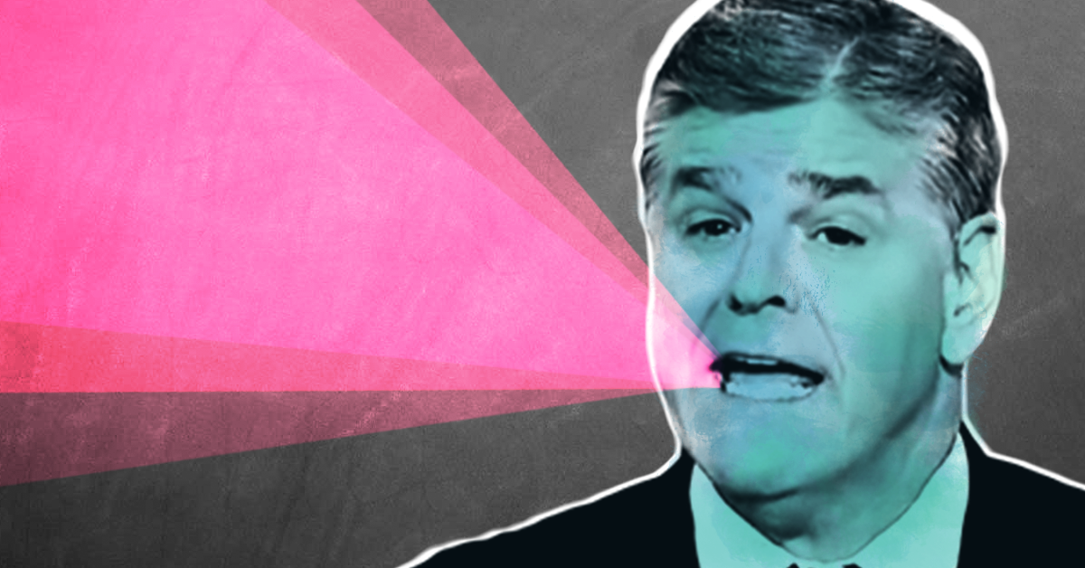 Sean Hannity is again amplifying atrocious, unverified accusations to help Trump