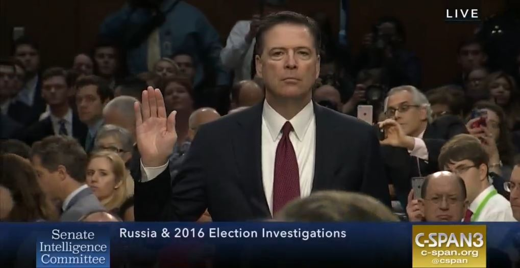 James Comey's Senate Intelligence Committee testimony