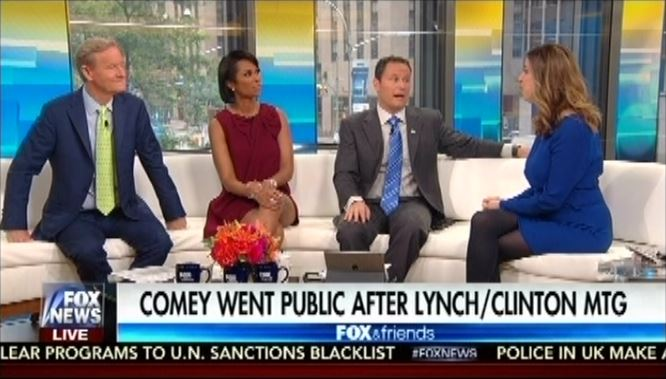 Trey Gowdy Fox & Friends FULL Interview On James Comey & Email Investiga.