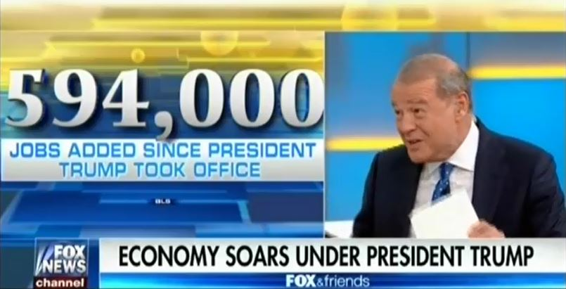 Fox Hypes Misleading Job Creation Numbers To Credit Trump