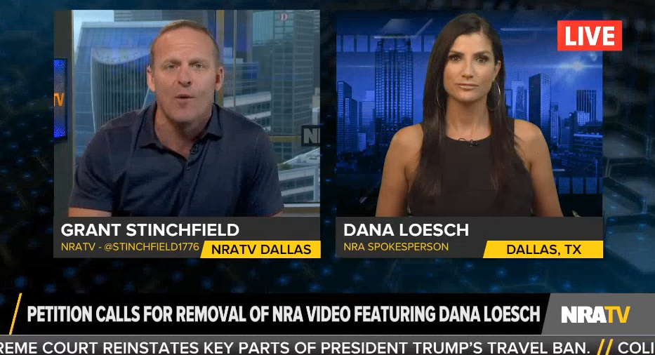 """NRA spokesperson """"proud"""" of controversial NRA ad that smeared anti-Trump resistance movement"""