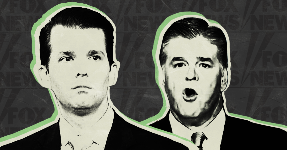 'It was before Russiamania': Trump Jr blows off concerns about secret meetings with Russians in Hannity interview