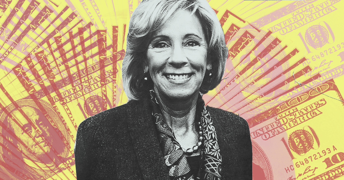 Devos Invested In Company Under >> Education Week Reports On How Devos Investment In Brain