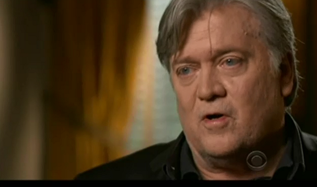 """On 60 Minutes, Steve Bannon denies immigrants' role in building America and says they should """"self-deport"""""""