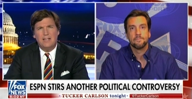 photo image Clay Travis on Fox News: ESPN should cater to Trump voters instead of covering major sports stories