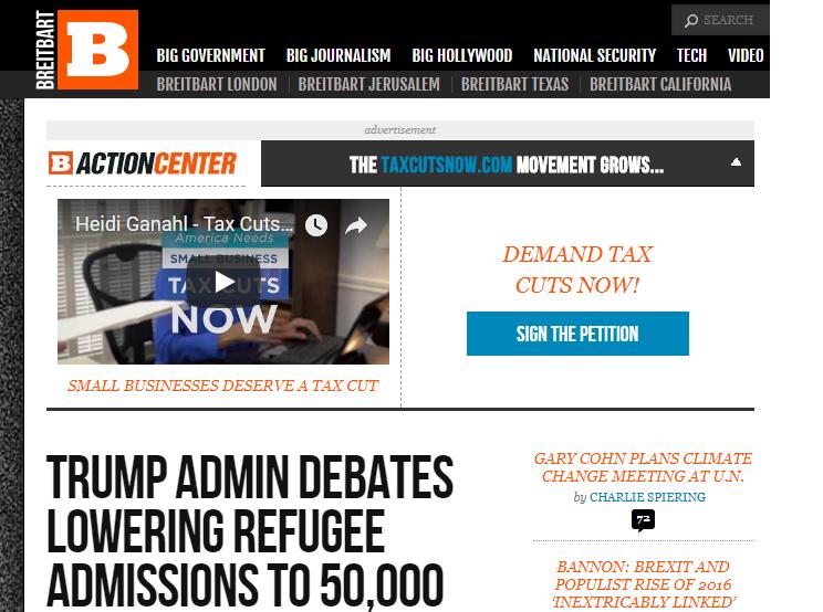 """Breitbart keeps running """"articles"""" touting Job Creators Network, a"""