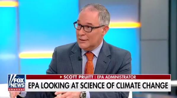 Fox & Friends hosts EPA chief Scott Pruitt, misrepresents new climate study